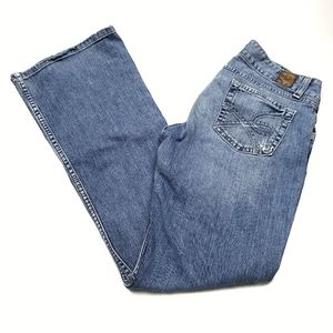 BKE Culture Stretch Bootcut Embroidered Jeans